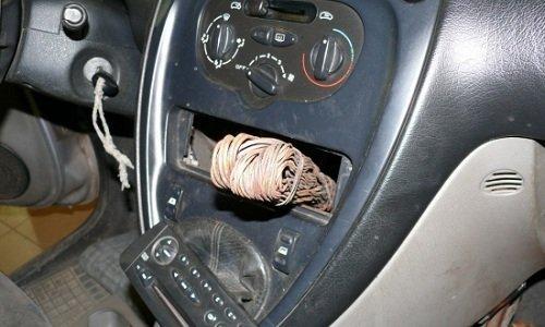 контрабанда цветных металлов в машине