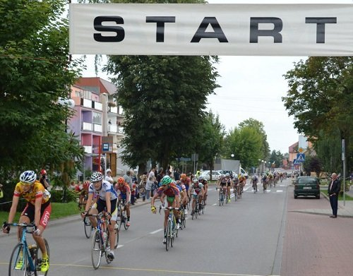 Старт велогонки Неман