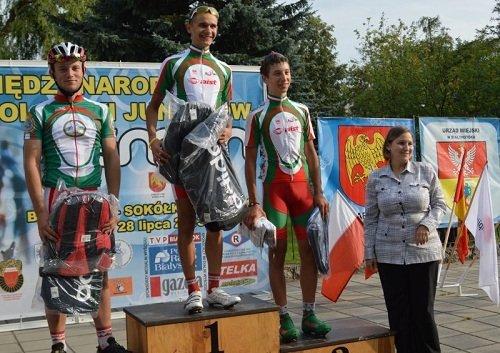 победители международной велогонки неман