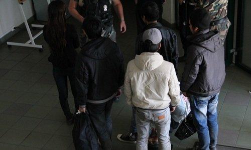 задержанные в Литве вьетнамцы