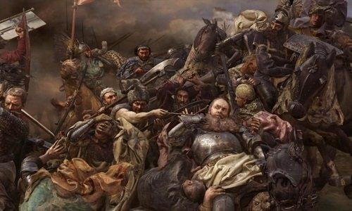 Картина Грюнвальская битва