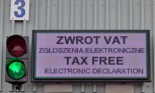Электронный Tax Free в Кузнице и Бобровниках