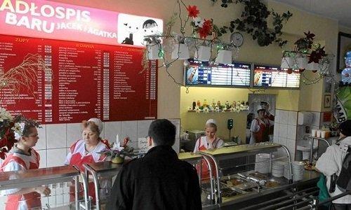 Столовая бар млечны в Польше