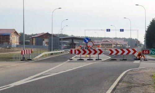 Дорога к пункту пропуска Половца