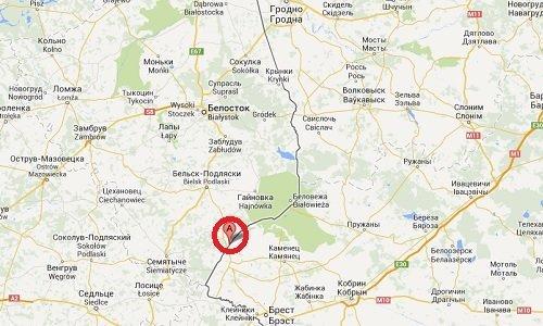 Пункт пропуска Половцы Песчатка на карте