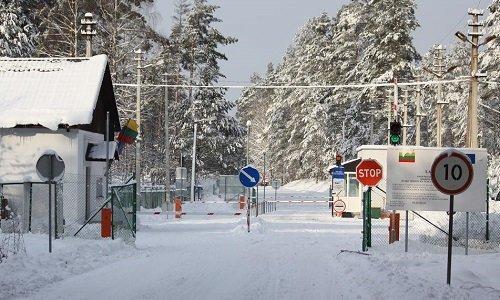 Пункт пропуска Литва Беларусь