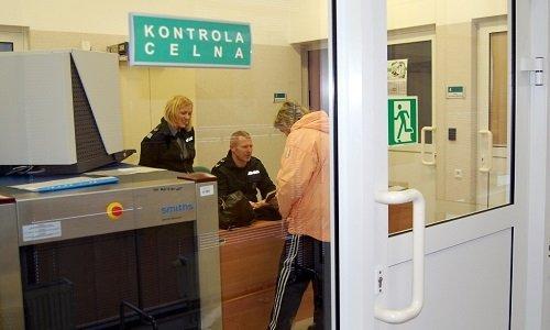 Комната оформления пешеходов на польско белорусской границе