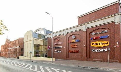 Торговый центр Альфа в Белостоке