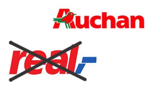 Auchan купил сеть Real