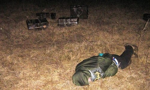 Задержания контрабандистов на границе Литвы и Беларуси