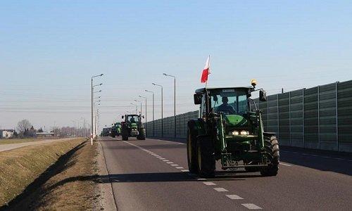Протесты фермеров в Польше