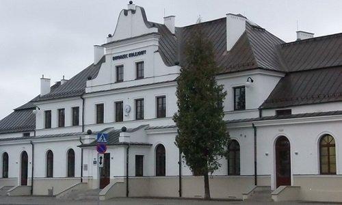Вокзал в Бялой Подляске