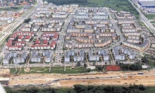 Строящаяся окружная дорога вокруг города