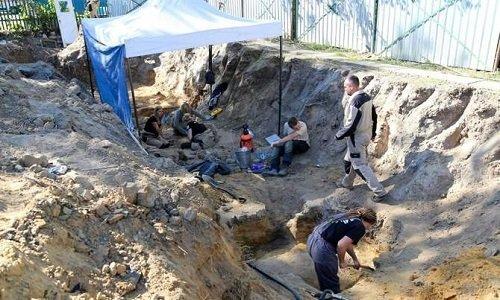 раскопки в следственном изоляторе Белостока