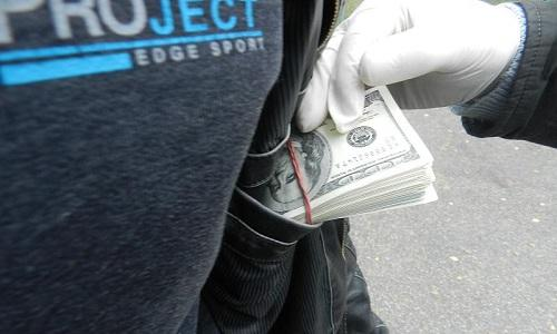 Спрятанная валюта на границе