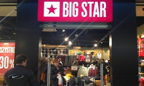 Магазин Big Star в ТЦ Оутлет Белосток
