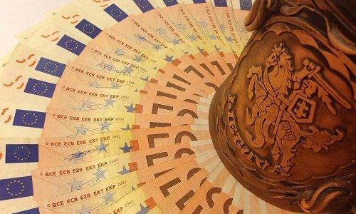 Евро валюта Литва