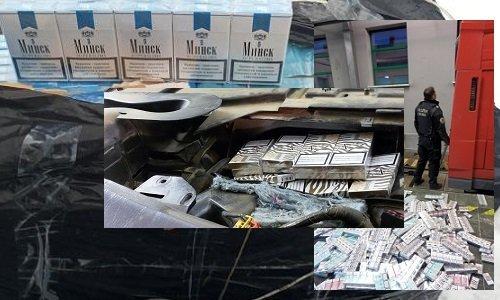 Контрабанда сигарет в Европу