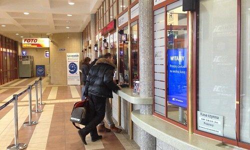 жд кассы на вокзале Белостока