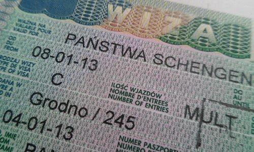 Виза шенген тип C