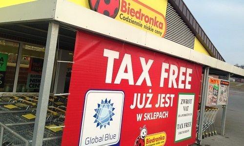 Biedronka и возврат VAT / Tax Free