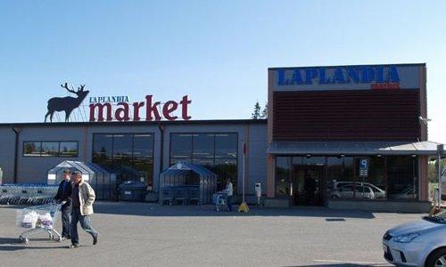 Магазин на границе в Финляндии