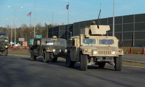 Хамер НАТО в Белостоке