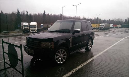 Range Rover изъятый в литве