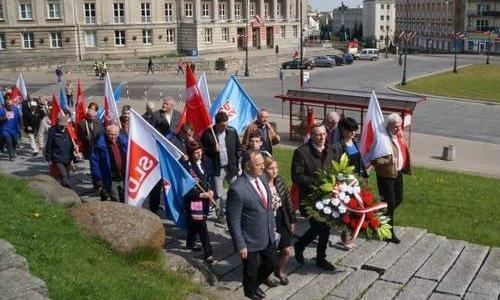 Шествие 1 мая в Белостоке