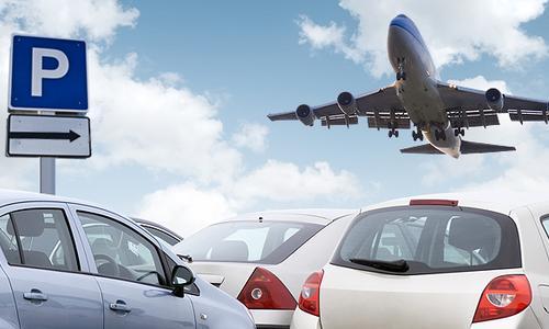 Стоянка в аэропорту