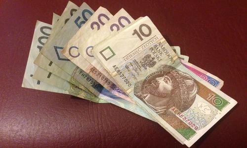 Польский злотый бумажные деньги