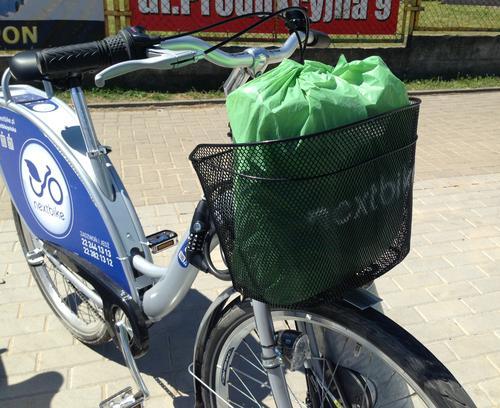 Велосипед арендованный фирмы Nextbike