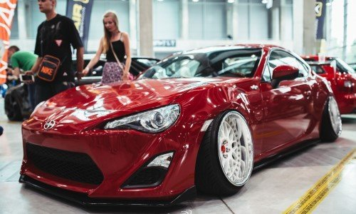 Машина на фестивале RACEISM