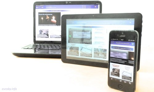 Адаптивный дизайн - телефон, планшет, компьютер