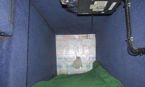 Контрабандные сигареты обнаружены в автобусе