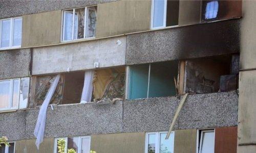Взрыв в жилом доме Белосток