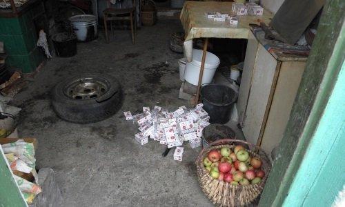 Яблоки и сигареты на ферме литовца