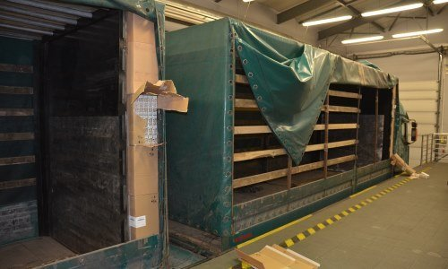 Двойная стена в грузовике выявлена в Бобровниках