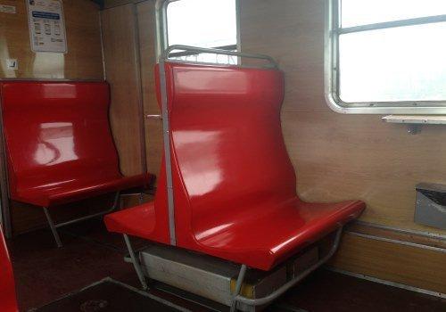 Внутри регионального приграничного поезда Гродно - Белосток