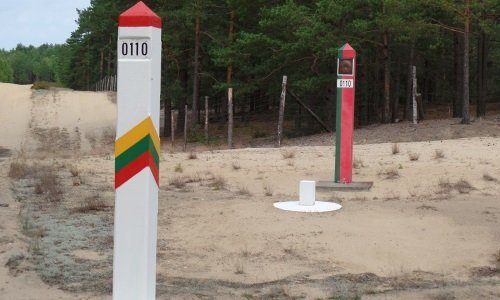Граница Литва Беларусь