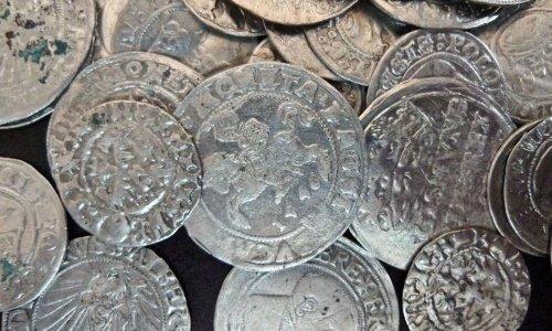 Серебрянные монеты ВКЛ / Великого Княжеста Литовского 15 и 16 век
