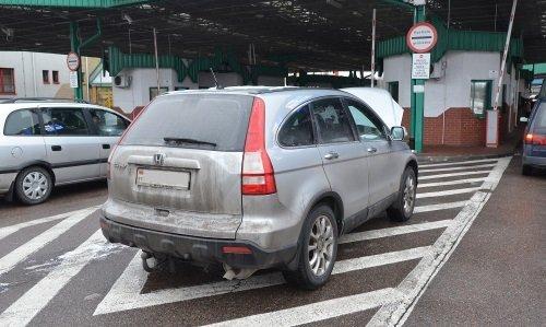 Хонда с перебитым VIN изъята в Бобровниках