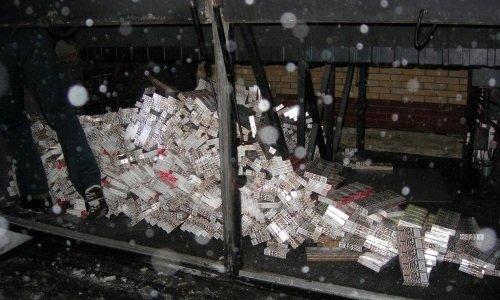 Сигареты в рейсовом автобусе в Бобровниках