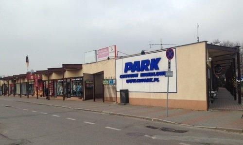 торговый центр Парк возле вокзала в Белостоке