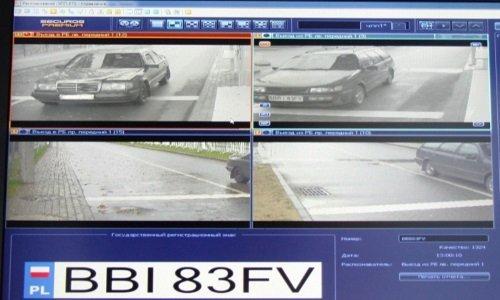 Видеофиксация автомобиля на границе