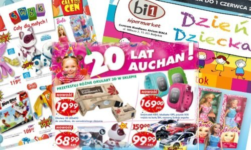 Распродажи к лету в Польше рекламные газетки