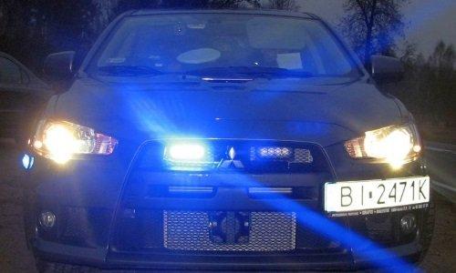 Полицейский Мицубиси Ланос