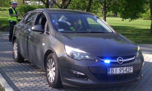 Полицейский Opel