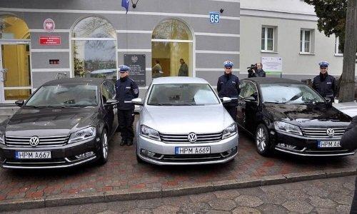 Полицейские Фольксвагены
