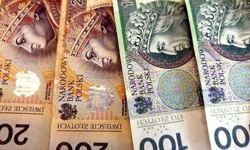польский злотвый 100 и 200 купюра
